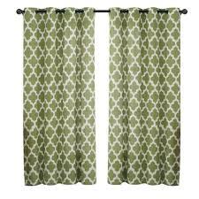 quatrefoil rod pocket curtain panel rod pocket curtains