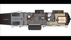 5th Wheel Toy Hauler Floor Plans by Keystone Fuzion 371 Fuzion 371 Toy Hauler Youtube