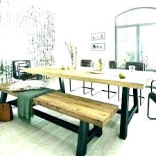 Dinner Table Bench Picnic Style The Dining Tables