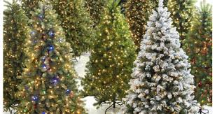 Kohls Artificial Christmas Trees by Save On Christmas Trees Now At Home Depot 6 5 U2032 Pre Lit Led Tree