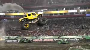 100 Monster Truck Show BroDozer Heavy D Freestyle Run Jam Tampa 2019 YouTube