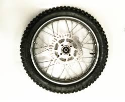 100 14 Inch Truck Tires 250 Front Disc Brake Wheel Rim Knobby Tyre Tire 12mm Axle