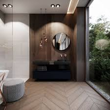 Dramatic Interior With Luxury Closets Bathrooms Bathroom