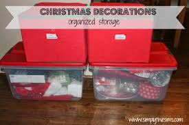 Christmas Tree Storage Bin Plastic by Christmas Storage Solutions