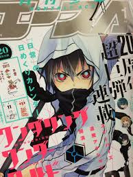 Ahead Of The Issues November 26th Release Date Manga Magazines Cover And New Series Color Opening Have Been Spotted
