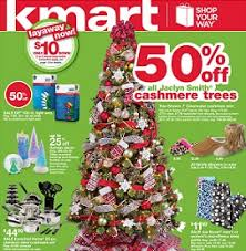 Kmart Small Artificial Christmas Trees by Kmart Sale Ad November 16 22 2014 Jaclyn Smith Christmas Trees