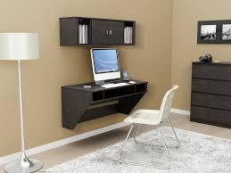 wall mounted narrow computer desk home and garden decor build