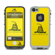 Lifeproof iPhone 5 Case Skin Gadsden Flag by Flags