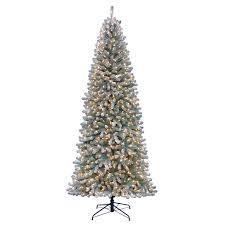 75 Pre Lit Flocked Christmas Tree by Collapsible Christmas Tree Pre Lit Christmas Lights Decoration