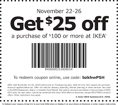 IKEA Coupons - $25 Off $100 At IKEA, Or Online Via Promo ... Code Coupon Ikea Fr Ikea Free Shipping Akagi Restaurant 25 Off Bruno Promo Codes Black Friday Coupons 2019 Sale Foxwoods Casino Hotel Discounts Woolworths Code November 2018 Daily Candy Codes April Garnet And Gold Online Voucher Print Sale Champion Juicer 14 Ikea Coupon Updates Family Member Special Offers Catalogue Discount