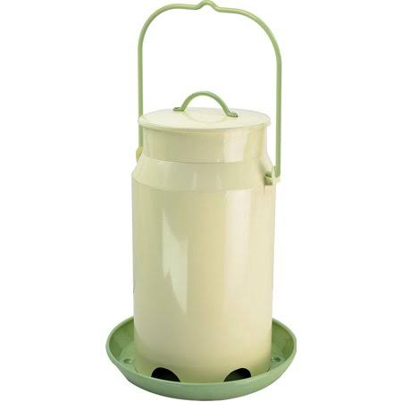 Woodstream Perky Milk Pail Hopper Feeder