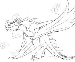 How To Train Your Dragon Coloring Pages Kids
