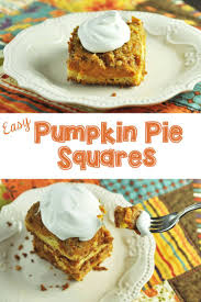 Libbys Easy Pumpkin Pie Mix by Easy Pumpkin Pie Squares