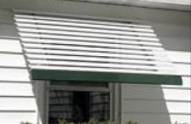 Line Closed Panel Aluminum Window Awnings