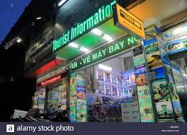 Travel Agent Office In Pham Ngu Lao Street Ho Chi Minh City Vietnam