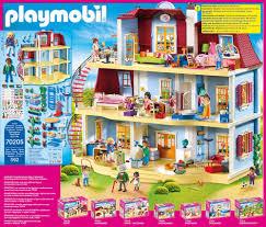 playmobil dollhouse 70205 mein großes puppenhaus mit funktionsfähiger türklingel ab 4 jahren dollhouse 70207 gemütliches wohnzimmer mit