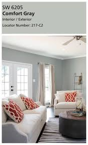 Most Popular Neutral Living Room Paint Colors by Joanna U0027s Favorite Paint Colors Sherwin Williams Comfort Gray