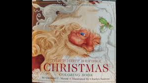 Twas The Night Before Halloween Book by Twas The Night Before Christmas Coloring Book Youtube