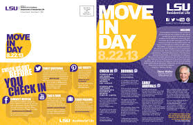 LSU Move in Day Rebranding