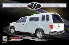 100 Commercial Truck Cap Jason Force Series Fiberglass Ishlers S