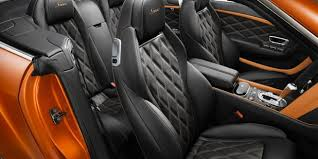 Bentley Continental GT Speed Convertible leather interior