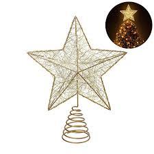 Christmas Tree Amazonca by Nicexmas Nicexmas Christmas Tree Topper Led Star Battery Operated