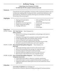 Administrative Assistant Resume Example Elegant 16 Amazing Admin Examples Of Luxury