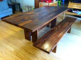 Reclaimed Barn Wood Dining Table & Bench | CUSTOMER CREATIONS DIY ... 40 Stunning Reclaimed Wood Console Tables Fniture Bedroom Kitchen Fabulous Timber Ding Table Recycled Barn Buy Room Made From With Solid How To Build A And Bench Youtube Using Build Harvest Work Play Barnwood Coffee Coffee Table Teton End Rustic Mall By Creek For Sale Flooring At