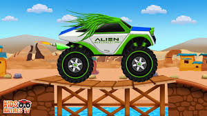 Alien Monster Truck / Car Wash For Children - YouTube 100 Bigfoot Presents Meteor And The Mighty Monster Trucks Toys Truck Cars For Children Cartoon Vehicles Car With Friends Ambulance And Fire Walking Mashines Challenge 3d Teaching Collection Vol 1 Learn Colors Colours Adventures Tow Excavator The Episode 16 Tv Show Monster School Bus Youtube