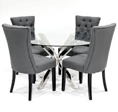 Crossly / Sanderson Grey Dining Set Edwalton Ding Chair Grey Velvet Faux Leather Barker Stonehouse Curran Set Of 2 Modern Large Comfy Thick Padded Luxury Med Chairs Four 1970s Chrome And Charcoal Romance 18m Table With 4 Chanel Volcanic Gray Silver Of Elegant Design Fabric Upholstered For Room Walmartcom Bellini Linen With Natural Oak Leg Graydingchairs Interior Ideas Two Barcelona