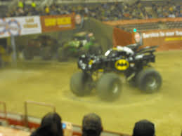 100 Monster Truck Batman Jam 3172012 Doing Donuts A Thrifty Mom