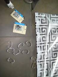Curtains With Grommets Diy by 43 Best Diy Fabric Shower Curtain Images On Pinterest Diy Shower