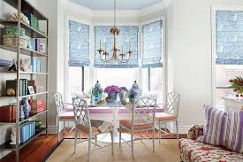 Incredible Ideas Bay Window In Dining Room Banquette Contemporary Curtains For