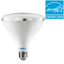 cree 120w equivalent bright white 3000k par38 dimmable led 45