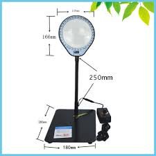 Desktop Magnifying Lamp Canada by 36 Led Illuminated 8x Desktop Magnifying Glass Free Angle