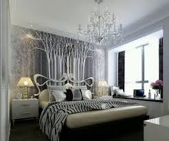 silver and black bedroom ideas for with luxury
