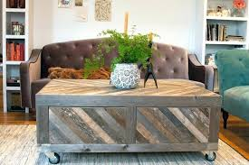 Coffee Table With Storage Ottomans Coffee Table With Storage