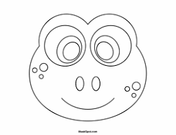 Full Size Of Coloring Pageprintable Frog Mask Page Printable To Color