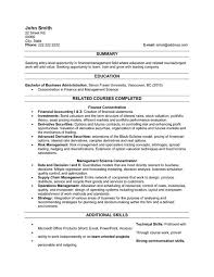 A resume template for a Recent Graduate You can it and child support specialist