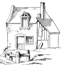 House Printable Coloring Pages
