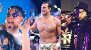 Wwe Goldust Curtain Call by Wwe Wrestling News Marty Scurll Alberto Del Rio Blue Meanie