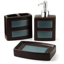 bathroom accessories hometrends gridlock 3 piece bathroom
