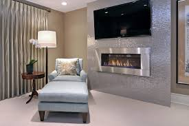 marble tile fireplace bedroom transitional with wool carpet silk