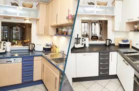 küche verschönern das vorher nachher projekt elha service