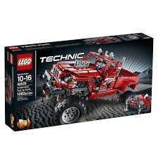 100 Lego Remote Control Truck Amazoncom LEGO Technic 42029 Customized Pick Up Toys Games