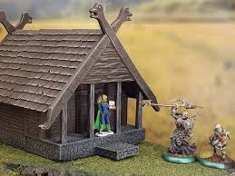 3d Dungeon Tiles Kickstarter by Fantastic 3d Printed Viking House From The Terrain 4 Print