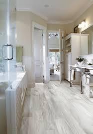 the secret to why luxury vinyl tile looks so bathroom