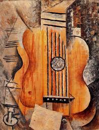 Still Life With Chair Caning Mood by Pablo Picasso Guitar I Love Eva 1912 Kunst Mooi Pinterest
