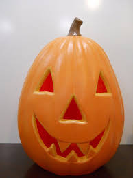 Halloween Blow Molds by 28 Large Pumpkin Jack O Lantern Blow Mold Yard Decor Halloween