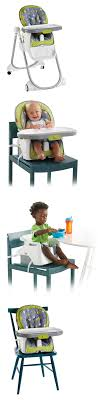 OpenBox Fisher-Price 4-in-1 Total Clean High Chair, Green Gray ...